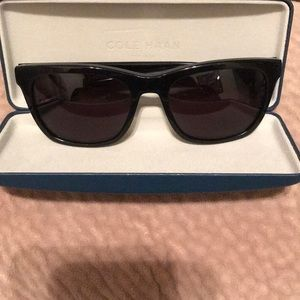 Brand new sunglasses with case by Cole Han